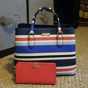 NWT Kate Spade purse with matching wallet
